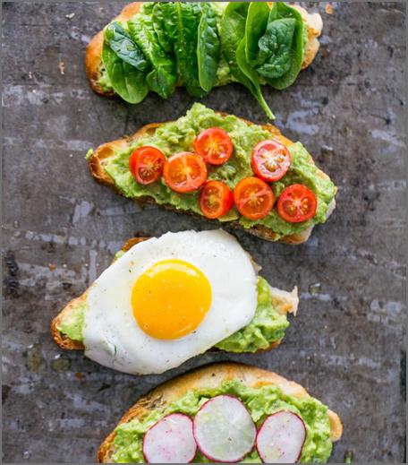 Inpost- food - brunch recepie for mother's day-open avacado sandwich