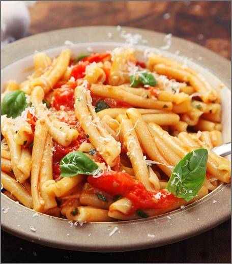 Inpost- food - brunch recepie for mother's day-tomatoe pasta