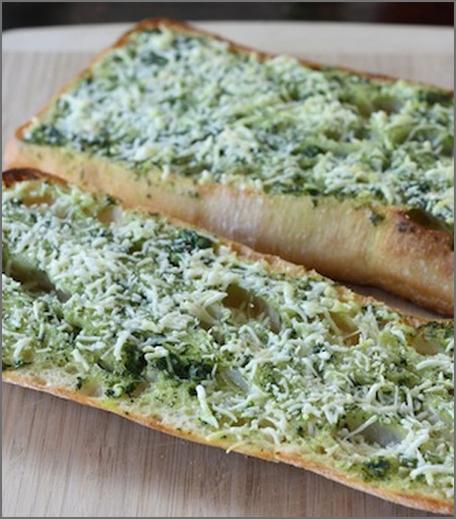 Inpost-style -ipl recepies - basil butter garlic bread