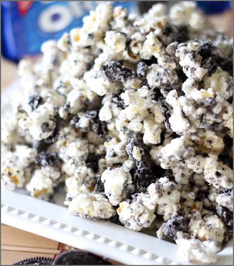 Inpost-style -ipl recepies - cookies and cream popcorn