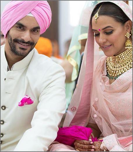 Inpost- wedding story - neha dhupia & angad