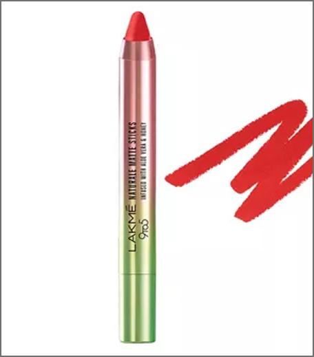inpost - beauty round up -lakme lipstick