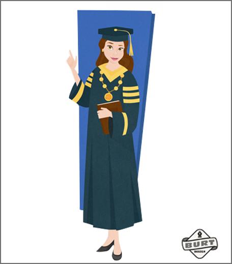 Disney Princess Careers_Hauterfly