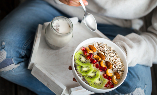 inpost - kick start your morning - keep your phone healthy breakfast