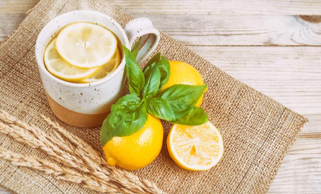 inpost - kick start your morning - lemon water