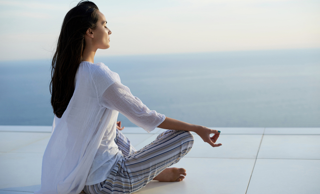 inpost - kick start your morning - meditate