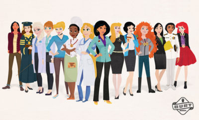 Disney Princess Careers_Hauterfly