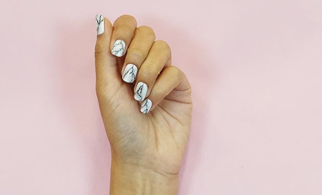 Inpost (H)- DIY Marble Nail Art 6
