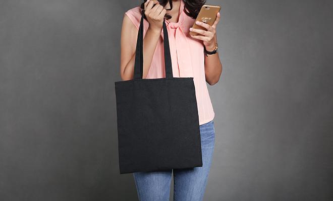 Take a cloth bag when you go shopping