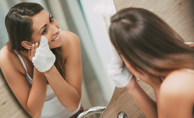 Use a makeup removing cloth that can be rewashed
