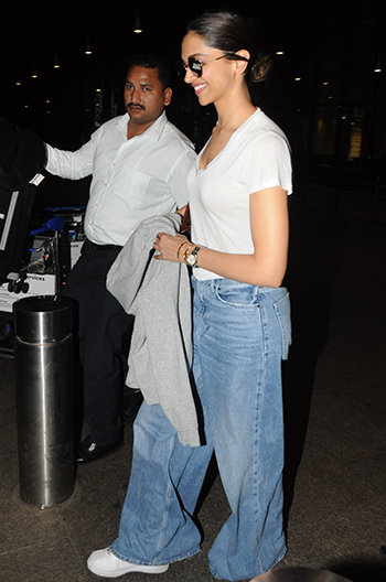 Only Deepika Padukone Can Pull Off Wide-Legged Mom Jeans ...
