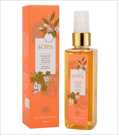 SOVA Draksh & Bitter Orange Flower Luxury Hair Oil_Inpost_Hauterfly