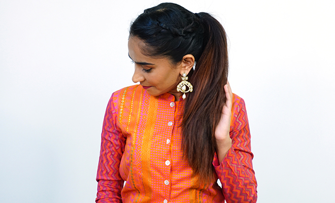 Inpost (H)- Navratri Hairstyles 1