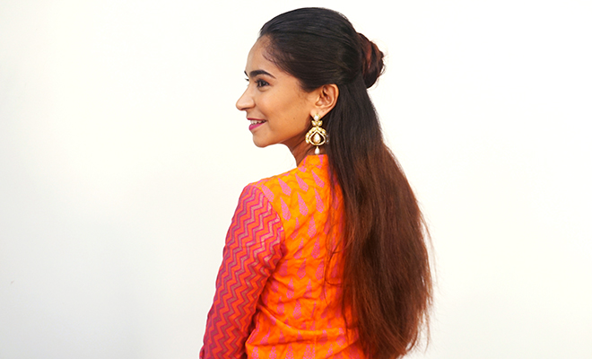 Inpost (H)- Navratri Hairstyles 3