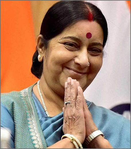 Inpost- shushma swaraj - powerful women