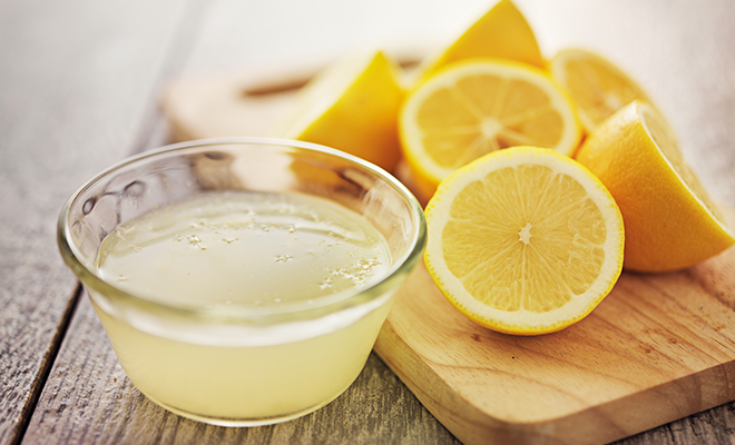 Detox Home Remedies-Lemon