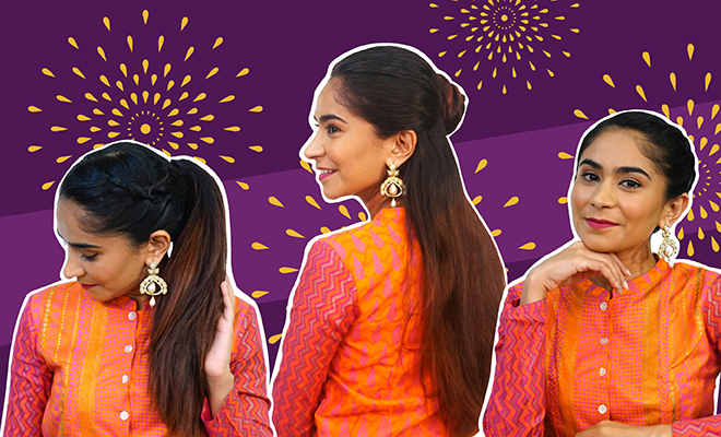 Website- Navratri Hairstyles