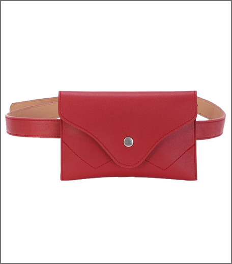 Buckle Belt With Removable Fanny Pack