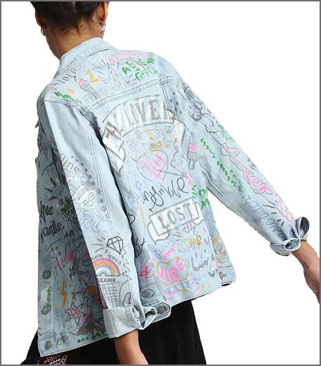 Graffiti Back Jacket