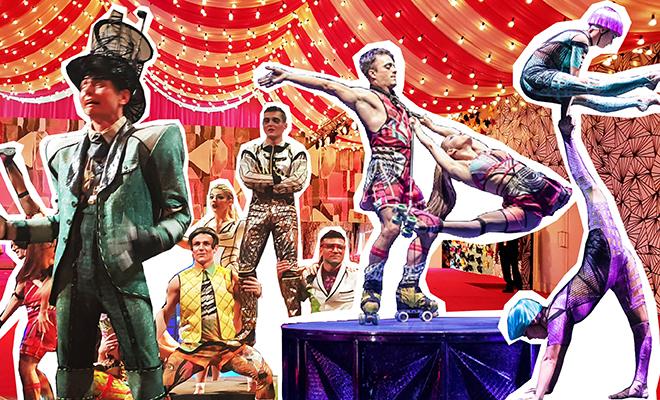 Website- Cirque De Soliel