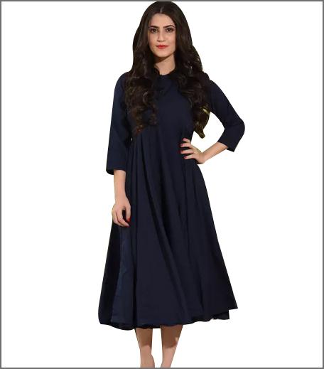 bunnai Blue Midi Dress
