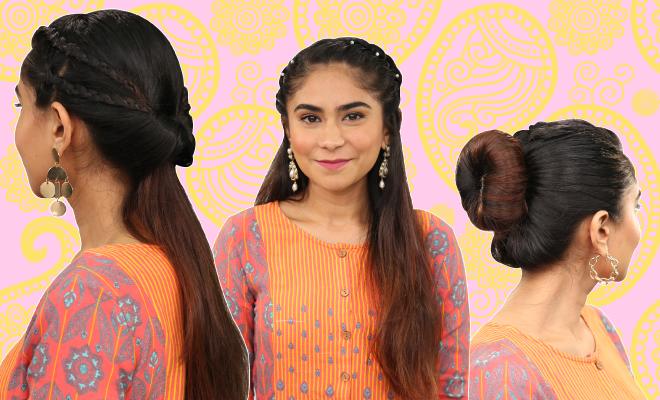 3 Easy Braided Hairstyles For The Wedding Season! | Hauterfly