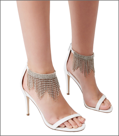 Riri Embellished Ankle Heel
