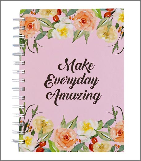 MAKE EVERYDAY AMAZING - DAILY PLANNER