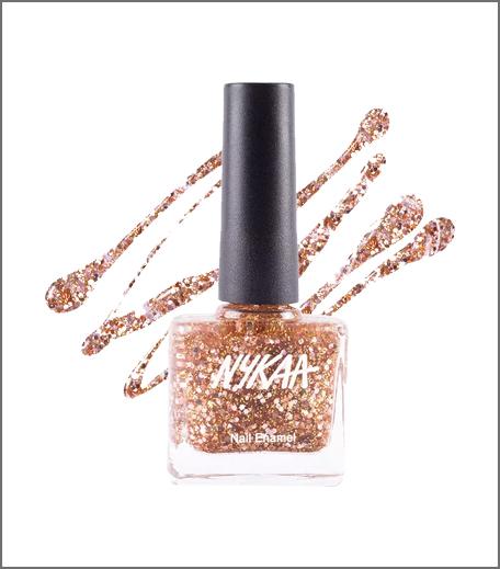 Nykaa Star Studded Glitter Coat Nail Enamel