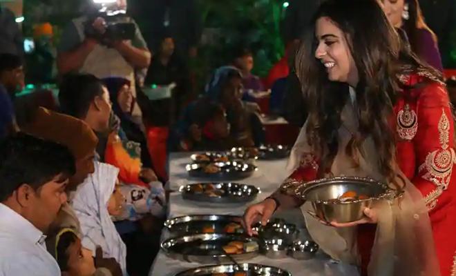 isha_ambani_wedding_food_beggars_hauterfly