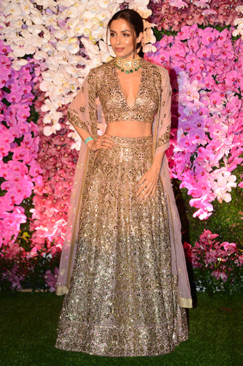 ambani wedding malaika arora hauterfly