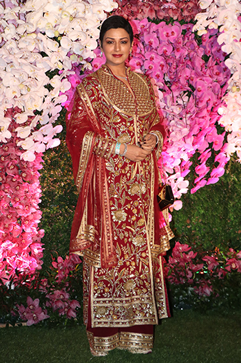 ambani wedding sonali bendre hauterfly