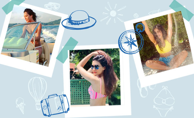 celebrity vacation photos