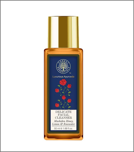 Forest Essentials Delicate Facial Cleanser - Mashobra Honey, Lemon & Rosewater