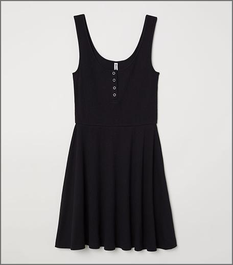 Rib Knit Dress Hauterfly