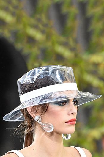 Chanel PVC Hat