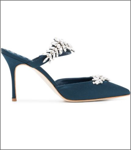 Manolo Embellished Heels
