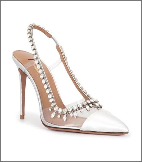 Aquazzura Embellished Heels