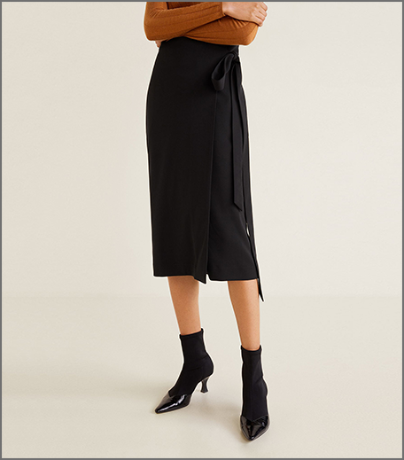 Hauterfly wrap around skirt