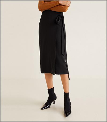 Hauterfly wrap around skirt