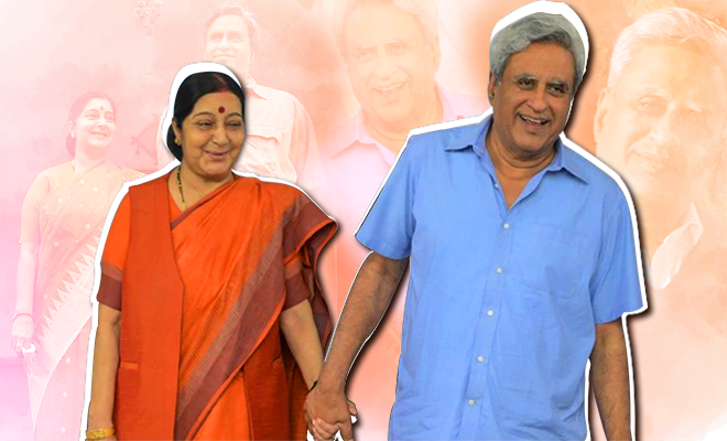 sushma-swaraj-and-husband-story--FI-660-400-hauterfly