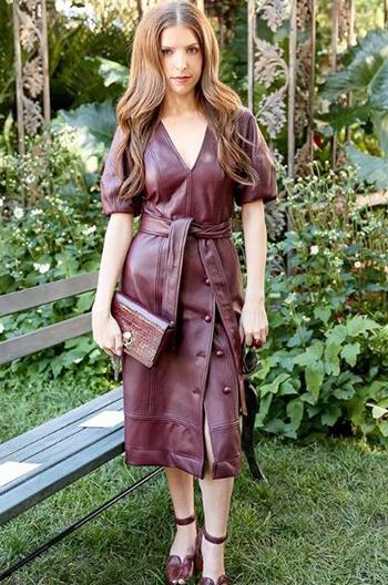 Anna Kendrick New York Fashion Week