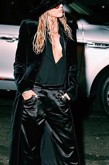 Miley Cyrus New York Fashion Week