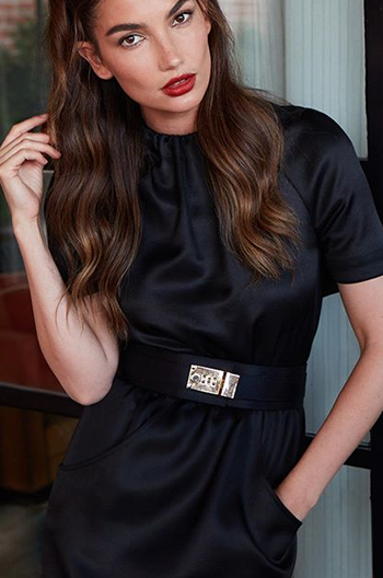 Lily Aldridge New York Fashion Week