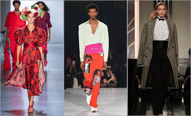 cummerbands new york fashion week