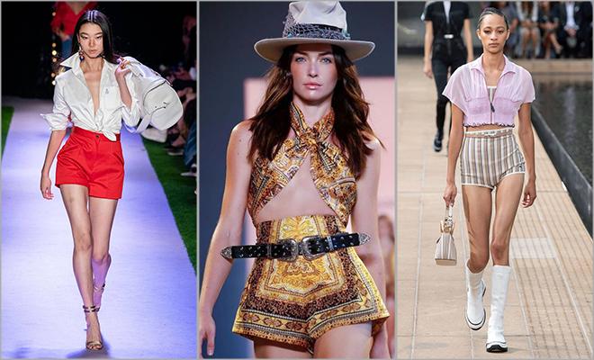 hot pants new york fashion week