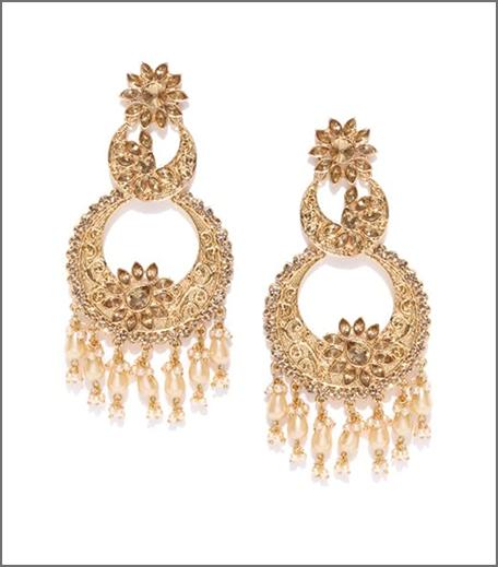 Hauterfly Chandbalis Durga Puja 2019 Pearls