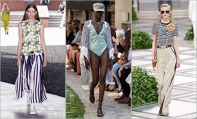 nautical stripes new york fashion week