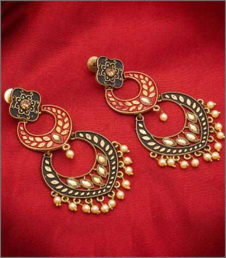 Hauterfly Chandbalis Durga Puja 2019 Red
