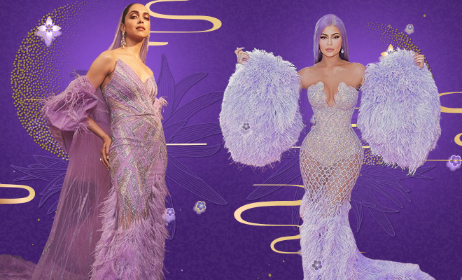 Deepika Padukone IIFA Awards Violet Gown 2019